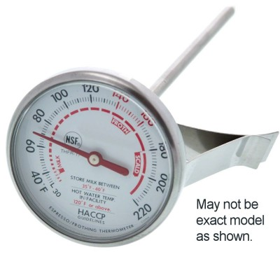 """Milk Frothing Thermometer (5"""" Stem)"""